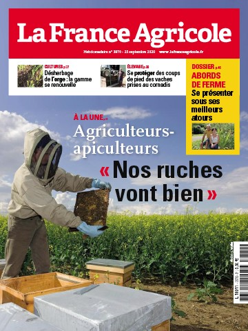 Couverture du magazine La France Agricole n°3870