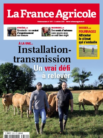 Couverture du magazine La France Agricole n°3871