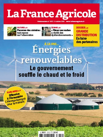 Couverture du magazine La France Agricole n°3872