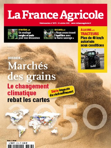 Couverture du magazine La France Agricole n°3873
