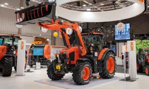Kubota M6002 - Suspension mécanique de cabine