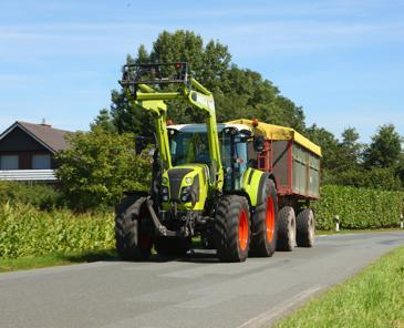 Test comparatif de tracteurs de 120 ch - Claas Arion 440 CIS