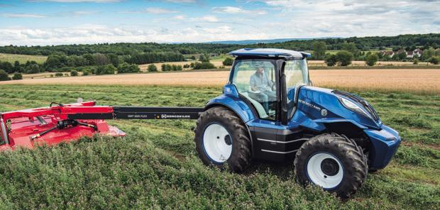 Tracteur  - New Holland dévoile une version futuriste du Methane Power
