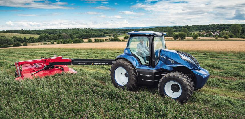 Tracteur new holland d voile une version futuriste du for Salon du materiel agricole