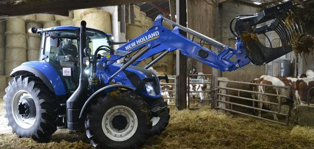 Tracteurs  - Le New Holland T5.120 Electro-Command en test en conditions hivernales