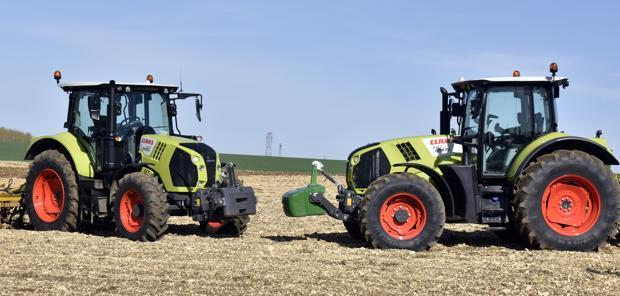 Face à Face  - Claas Arion 610 CIS+ contre Arion 530 CIS