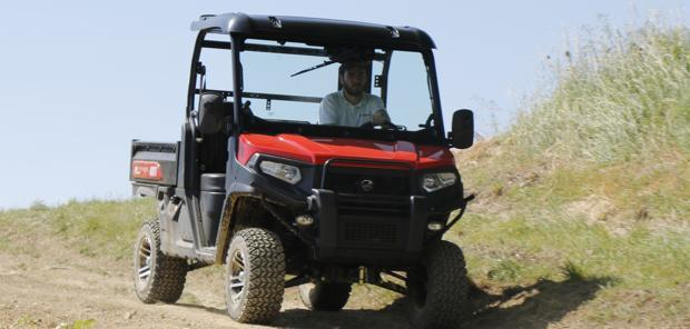 ESSAI COMPARATIF SSV - Kioti UTV 2400, simple et efficace