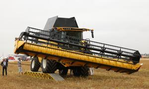 New Holland   - Accord pour la compensation de dévers