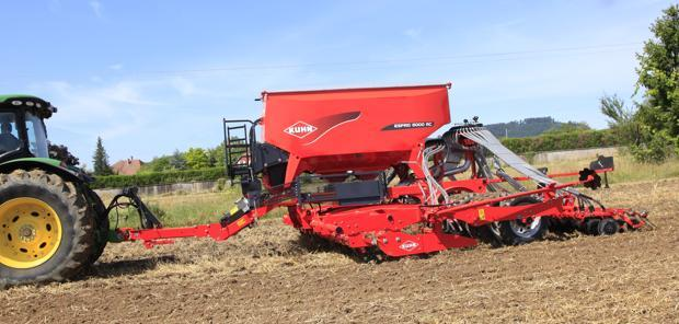 Kuhn  - L'Espro 6000 en version double distribution