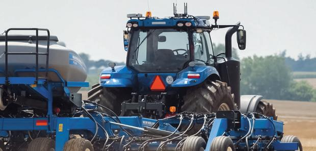 New holland  - NH Drive, un tracteur autonome