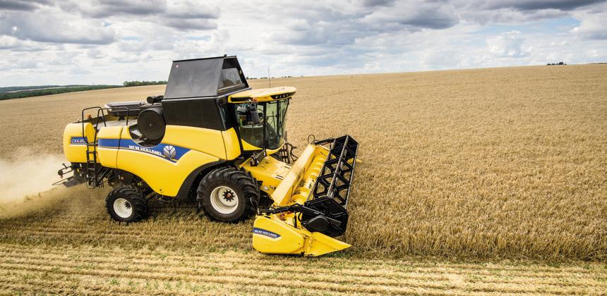 New Holland  - Une nouvelle mouture de la CX