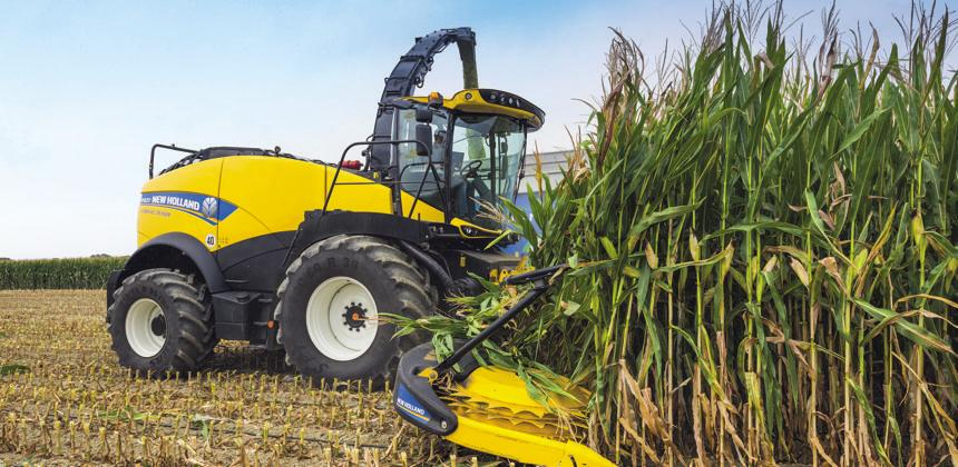 New Holland  - Une ensileuse de 911 ch