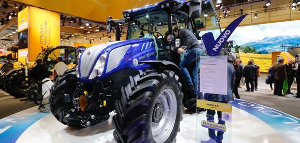 New Holland - La variation continue pour le T5