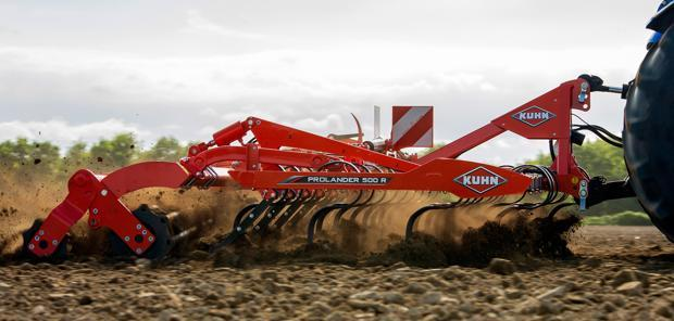 Kuhn - Le Prolander en version portée repliable