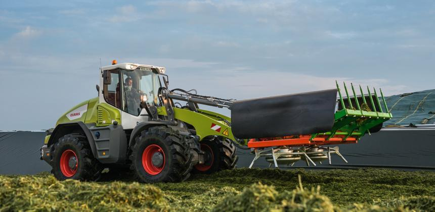 Claas - Trois chargeuses Torion passent au Stage 5