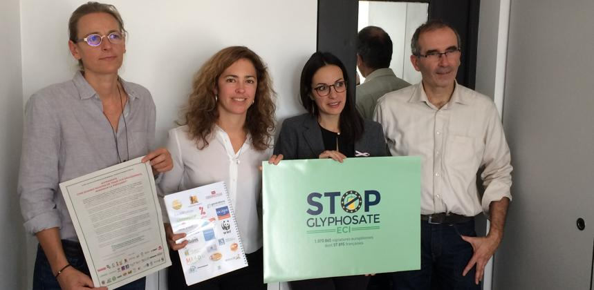 Glyphosate/UE  - Plus d'un million de signataires demandent son interdiction