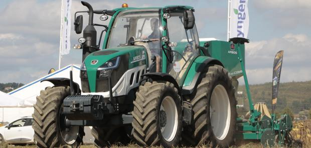 Prise en main à Innov-Agri  - Arbos 5115 : simple, élégant mais perfectible