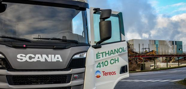 Biocarburants - Tereos teste l'ED95 pour transporter des betteraves